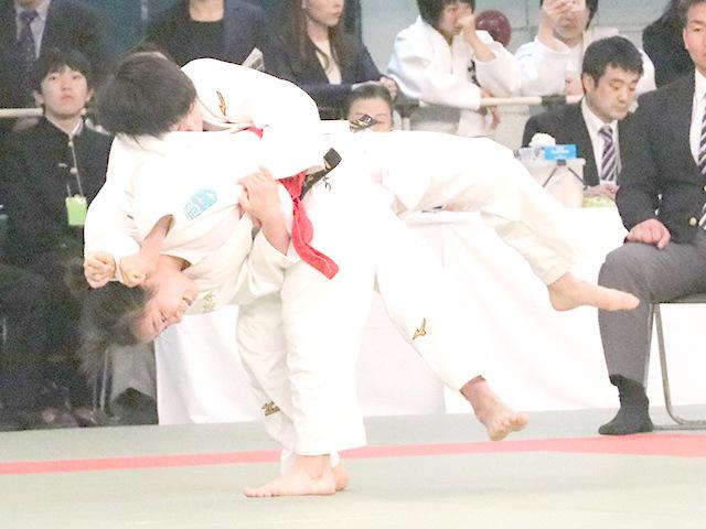57kg級 古賀ひより vs 渕田萌生