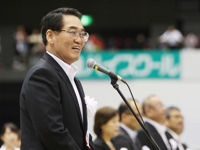 大会名誉会長挨拶 西日本新聞社 川崎隆生社長