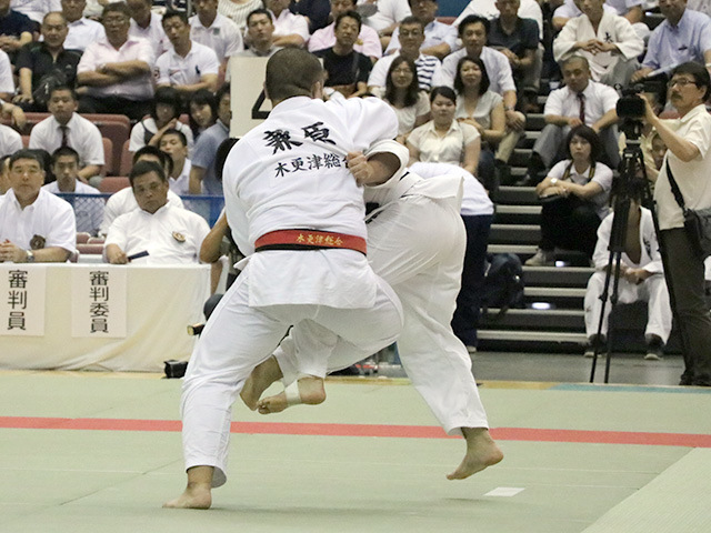 男子準々決勝戦 木更津総合高校vs大牟田高校�@