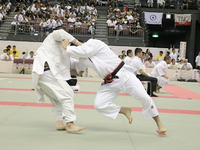 男子準決勝戦 国士舘高校vs埼玉栄高校�D