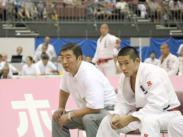男子準決勝戦 国士舘高校vs埼玉栄高校�F