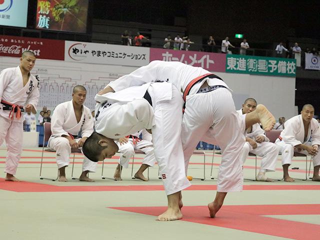 男子決勝戦 国士舘高校vs日体大荏原高校�D