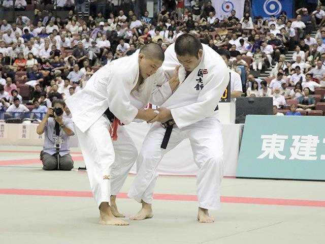男子決勝戦 国士舘高校vs日体大荏原高校�F