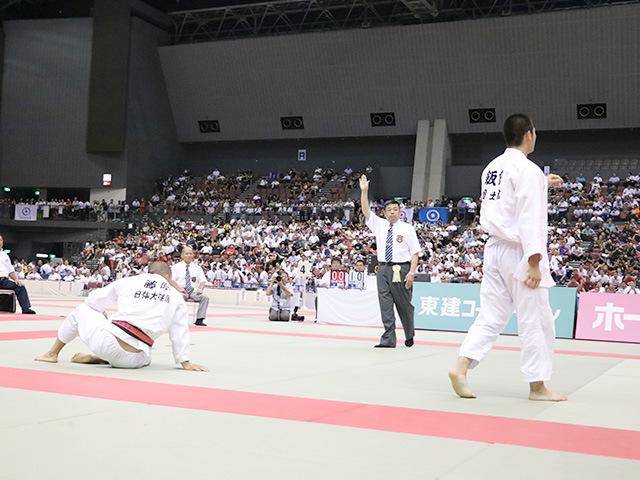 男子決勝戦 国士舘高校vs日体大荏原高校�N