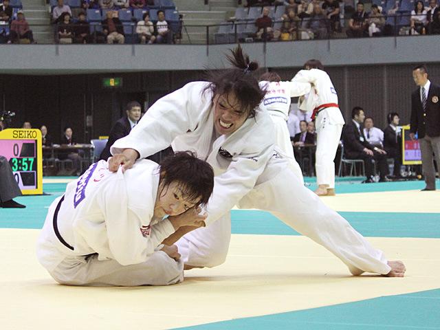 70kg級 ヌンイラ華蓮 vs 大野陽子