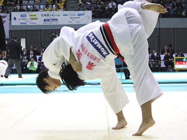 78kg級  濱田尚里 vs 岡村智美