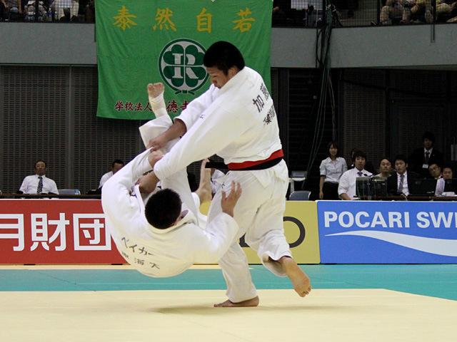 90kg級 加藤博剛 vs ベイカー茉秋�A