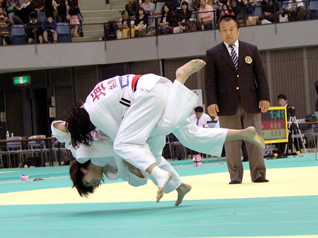 52kg級 志々目愛 vs 垣田恵利