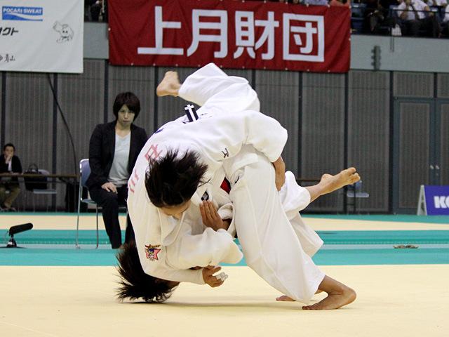 57kg級 松本薫 vs 石川慈