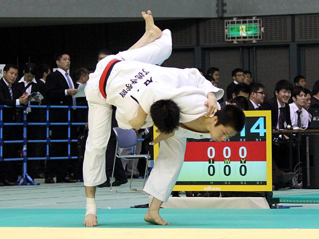 男子60kg級 2回戦 石川裕紀vs藤坂泰恒