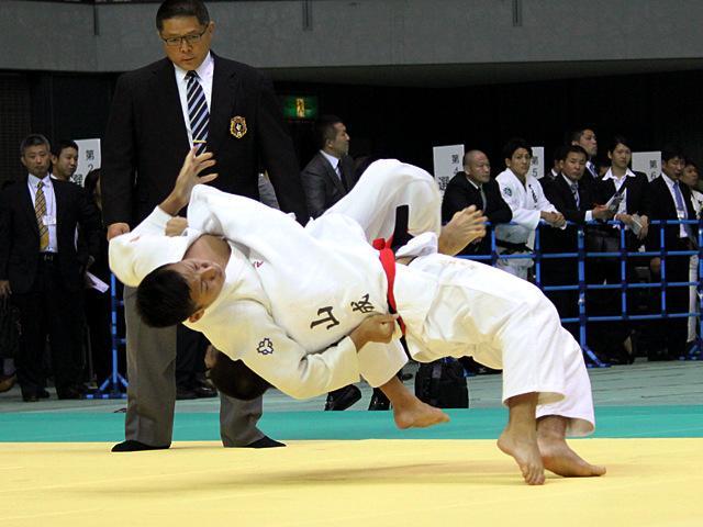 男子60kg級 3回戦 永山竜樹vs河野亮哉