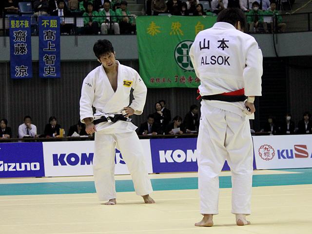 男子60kg級 決勝戦 山本浩史vs木戸慎二�B