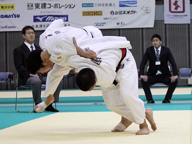 男子66kg級 準決勝戦 阿部一二三vs吉田惟人