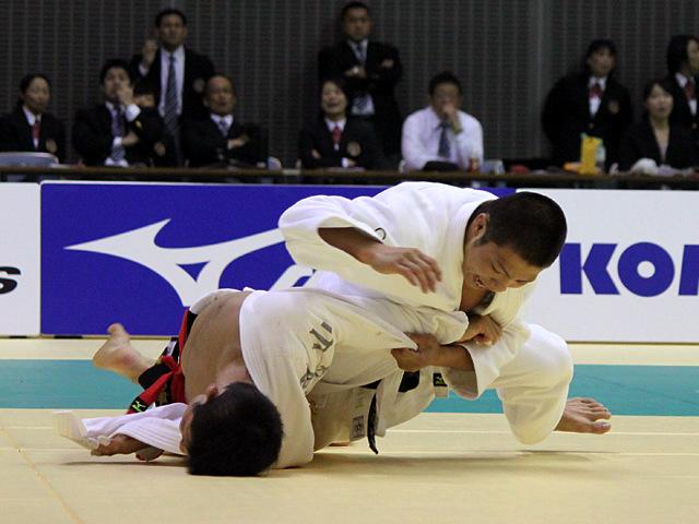 男子66kg級 決勝戦 阿部一二三vs西山祐貴