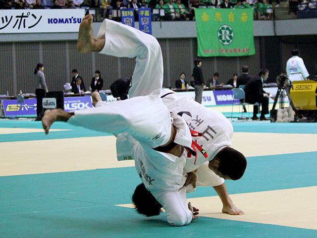 男子73kg級 2回戦 中村剛教vs山本悠司