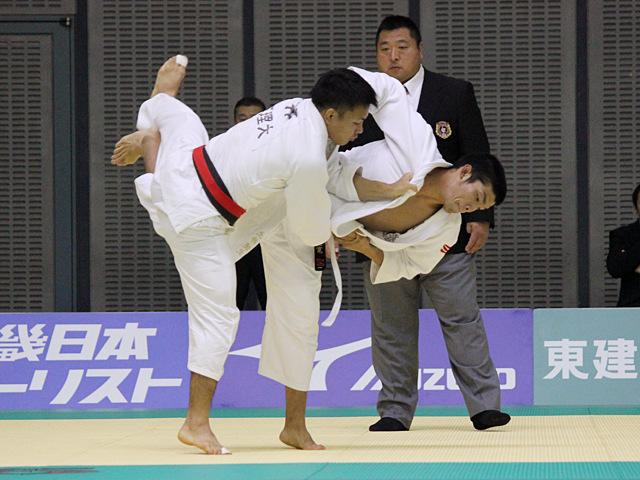 男子73kg級 3回戦 土井健史vs三浦健寛