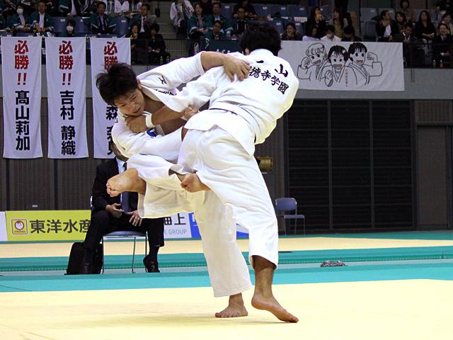 男子73kg級 準決勝戦 西山雄希vs西岡和志