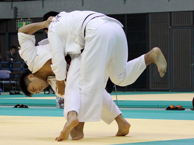 男子81kg級 準決勝戦 長島啓太vs丸山剛毅�@