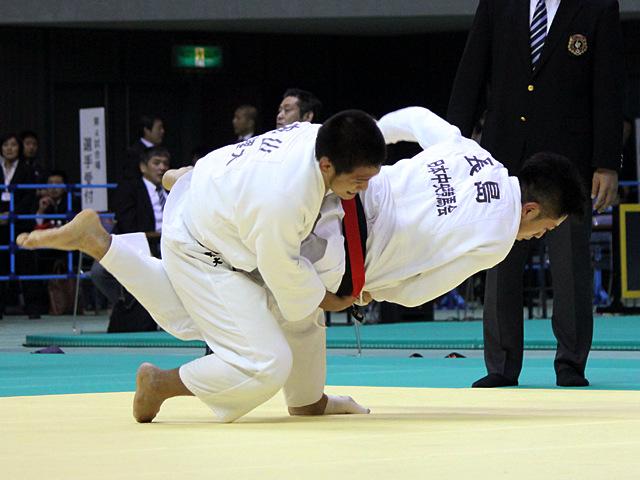 男子81kg級 準決勝戦 長島啓太vs丸山剛毅�A