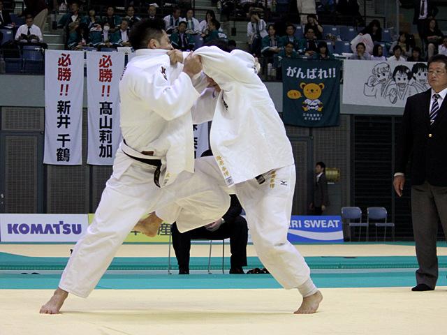 男子81kg級 3位決定戦 長島啓太vs海老泰博�@