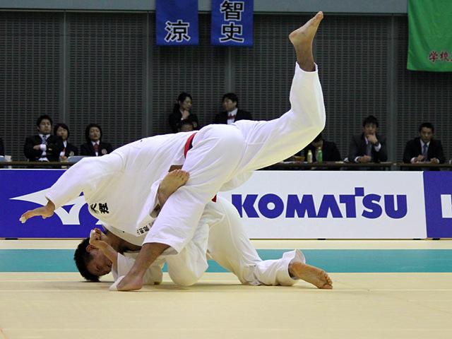 男子81kg級 決勝戦 丸山剛毅vs渡邉勇人