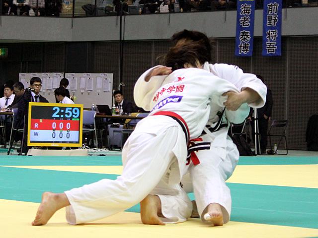 女子78kg級 準決勝戦 緒方亜香里vs高山莉加