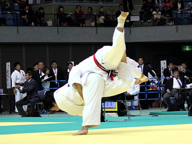 女子78kg超級 準決勝戦 稲森奈見vs井上愛美�@