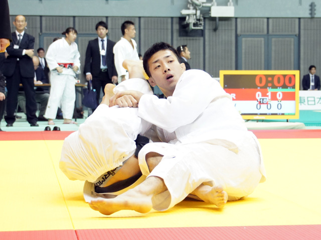 男子60kg級 2回戦 宮本 拓実 vs 青木大