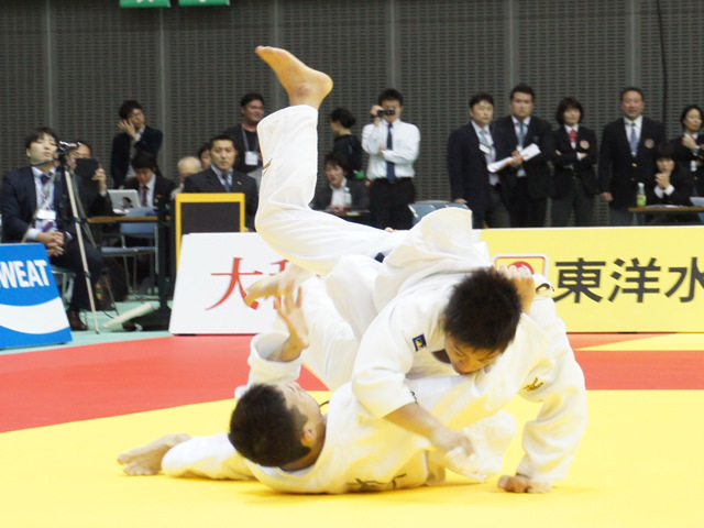 男子60kg級 決勝戦 山本浩史 vs 青木大�@