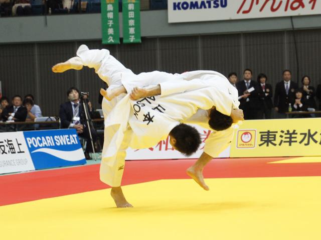 男子60kg級 決勝戦 山本浩史 vs 青木大�A