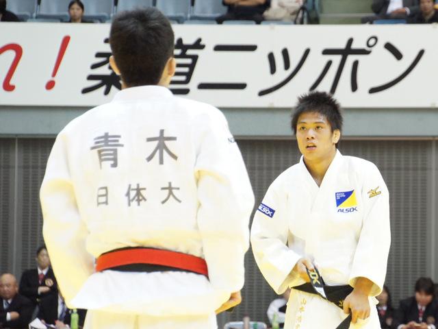 男子60kg級 決勝戦 山本浩史 vs 青木大�B