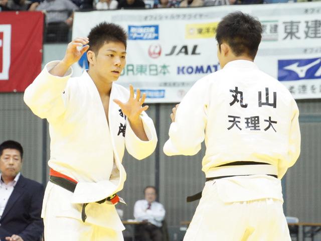 男子66kg級 3回戦 阿部一二三 vs 丸山城志郎�@