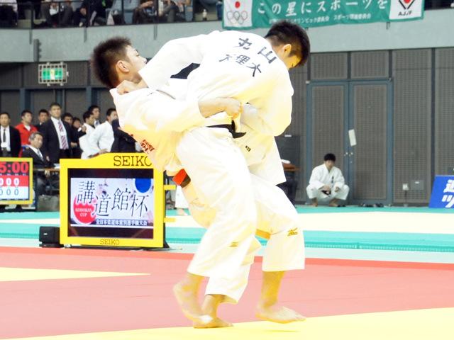 男子66kg級 3回戦 阿部一二三 vs 丸山城志郎�A