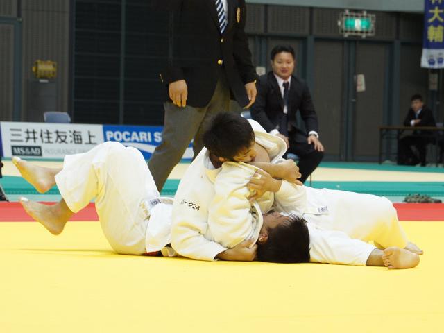 男子73kg級 準決勝戦 土井健史 vs 田村和也