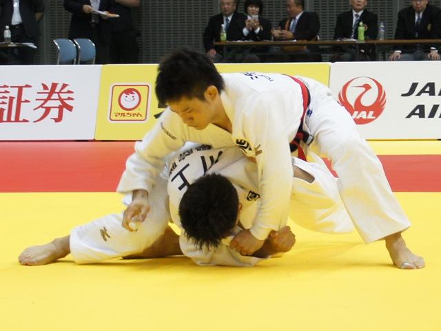 81kg級 海老泰博 vs 川上智弘