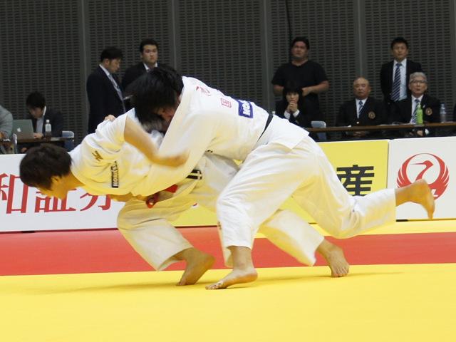 女子70kg級 決勝戦 大野陽子 vs 池絵梨菜�@