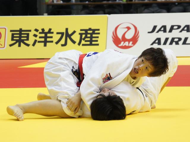 女子70kg級 決勝戦 大野陽子 vs 池絵梨菜�A