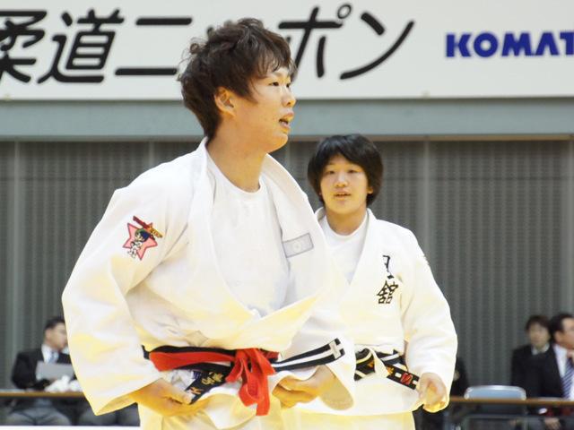 女子70kg級 決勝戦 大野陽子 vs 池絵梨菜�B
