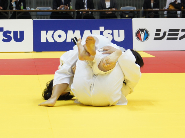 女子78kg級 決勝戦 �M田尚里 vs ��山莉加�@