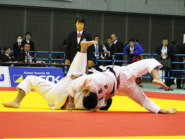 男子81kg級 丸山剛毅 vs 笠原大雅