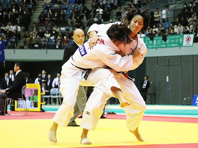 女子57kg級 石川慈 vs 小野彰子