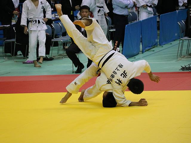 男子60kg級 2回戦 宮之原誠也 vs 北村龍虎