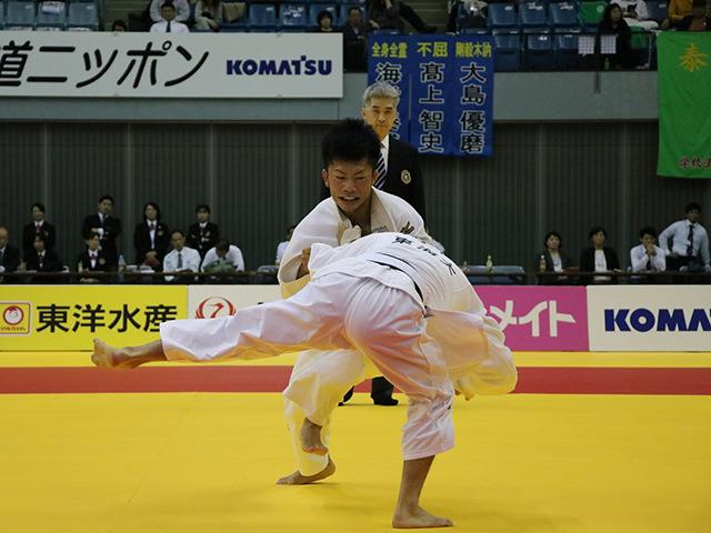 男子60kg級 決勝戦 宮之原誠也 vs 山本達彦�@