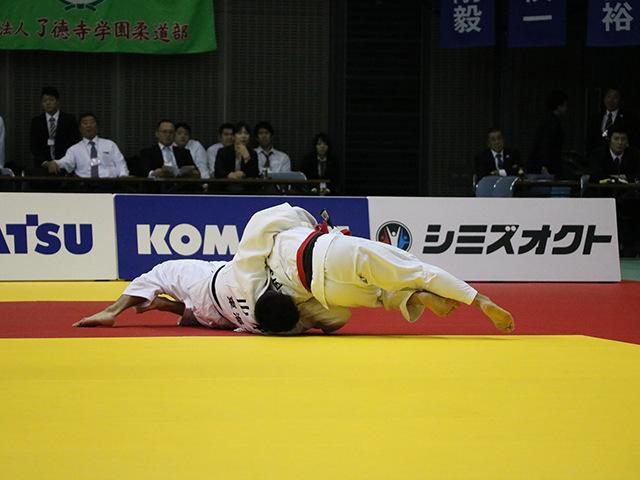 男子60kg級 決勝戦 宮之原誠也 vs 山本達彦�A