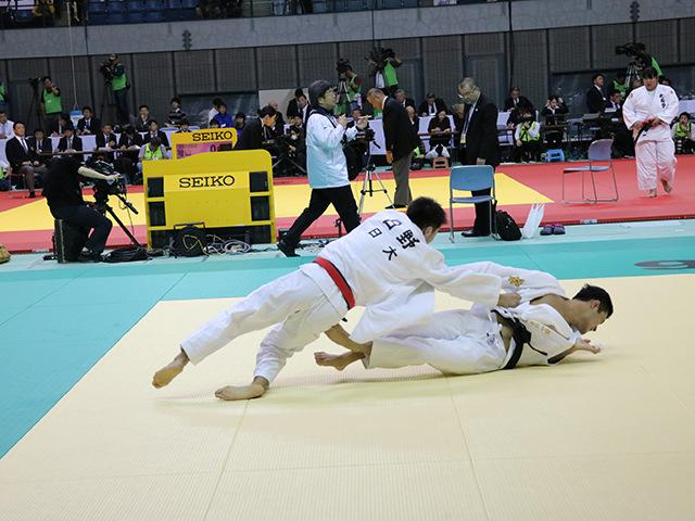 男子66kg級 1回戦 日野賢明 vs 西山祐貴
