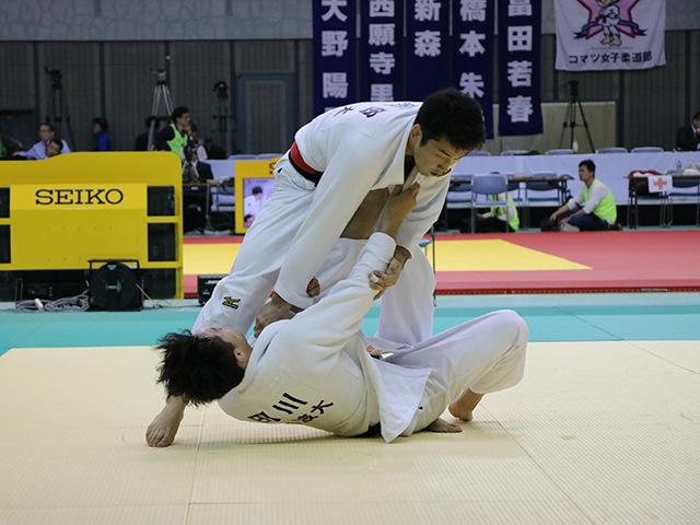 男子66kg級 準々決勝戦 磯田範仁 vs 田川兼三