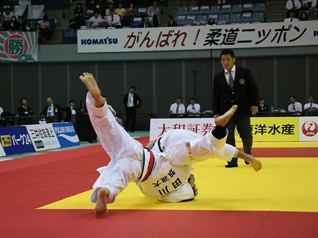 男子66kg級 決勝戦 田川兼三 vs 丸山城志郎�A