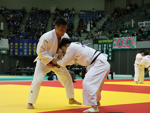 男子73kg級 2回戦 海老沼匡 vs 島田隆志郎�@