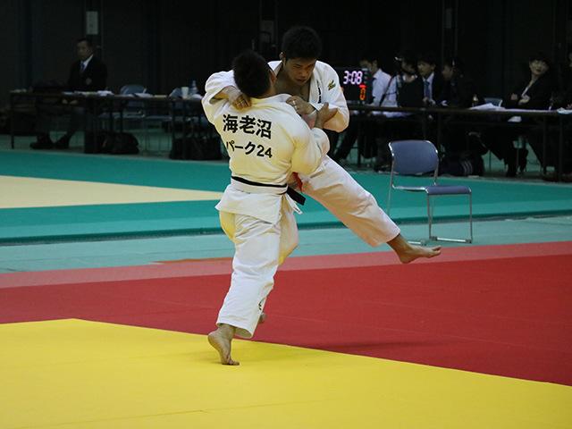 男子73kg級 3回戦 竹内信康 vs 海老沼匡�@