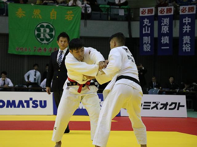 男子73kg級 決勝戦 立川新 vs 野上廉太郎